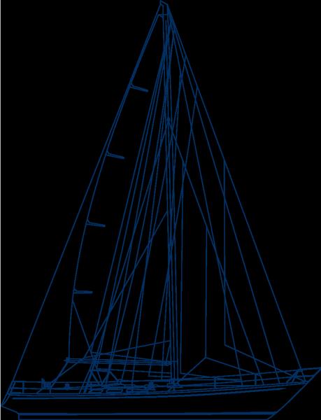 Segelplan, Segelriss der Swan 48