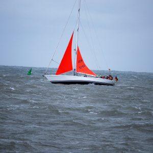 Schwerwettertraining der Swan Dantés in der Nordsee