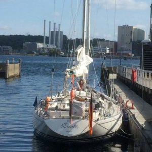 Segelyacht Swan Dantés in Kiel-Düsternbrook